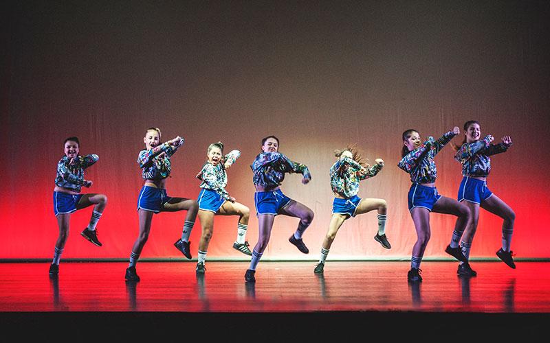 corso hip hop junior spettacolo talentschoolrary