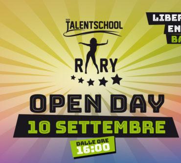 open day talent school rary